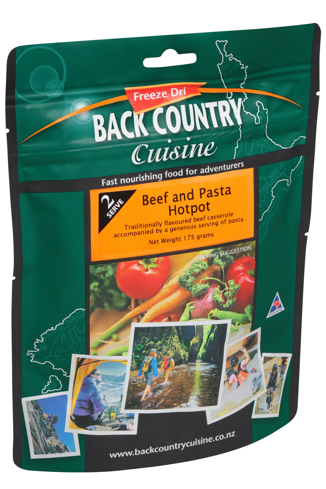 Back Country Beef & Pasta Hotpot - 2 Serves, None, hi-res