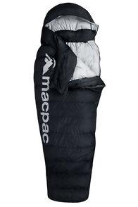Macpac Overland Down 400 Sleeping Bag — Standard, Black, hi-res