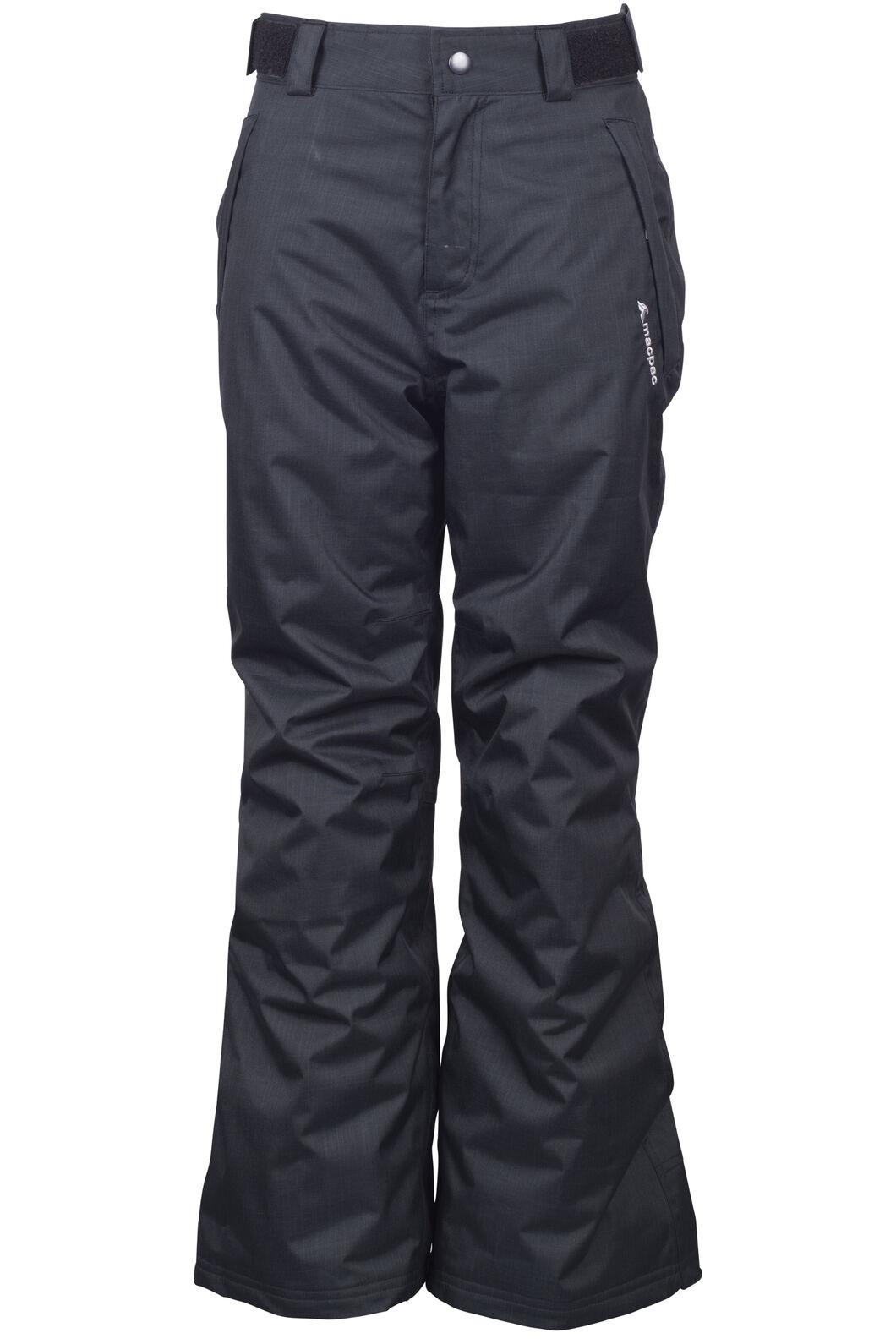 Macpac Spree Ski Pants - Kids', Black, hi-res