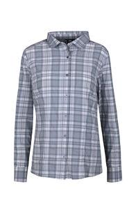 Macpac Eclipse Long Sleeve Shirt - Women's, Stormy Sea, hi-res