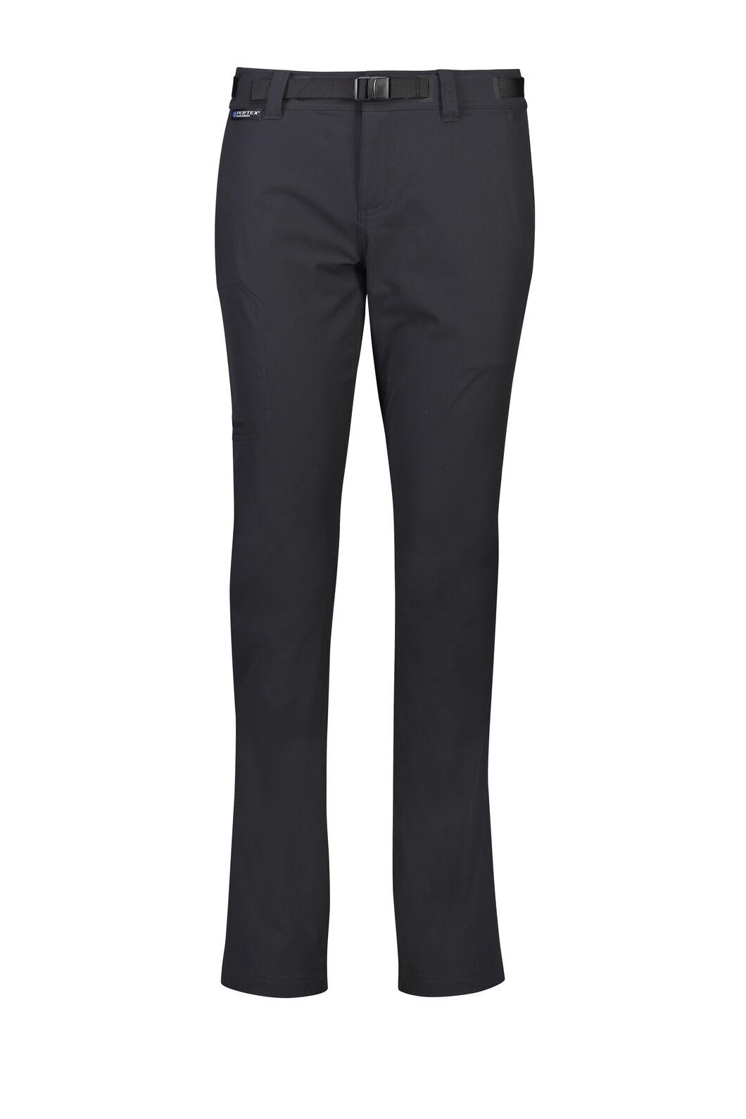 Macpac Trekker Pertex Equilibrium® Softshell Pants — Women's, Black, hi-res