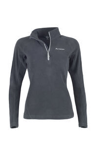 Macpac Tui Polartec® Micro Fleece® Pullover — Women's, Black, hi-res