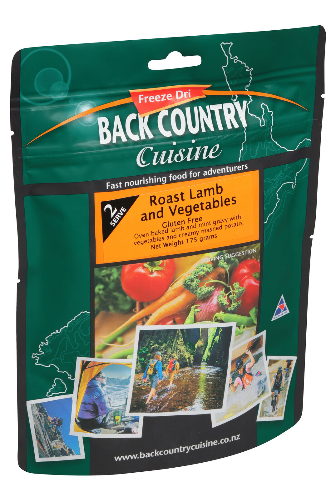 Back Country Roast Lamb & Vegetables - 2 Serves, None, hi-res