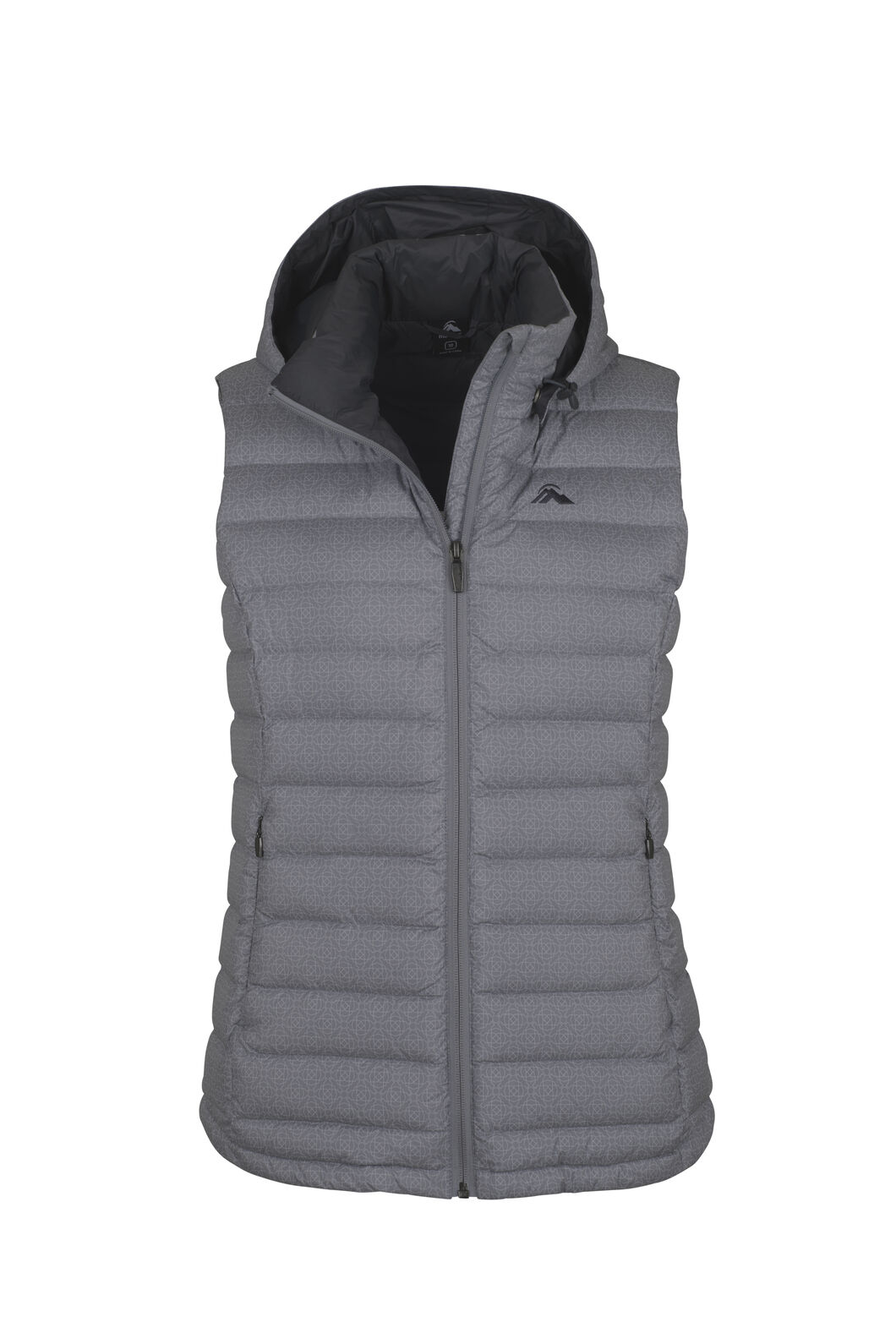 Macpac Zodiac Hooded Down Vest - Women's, Monument Tile, hi-res