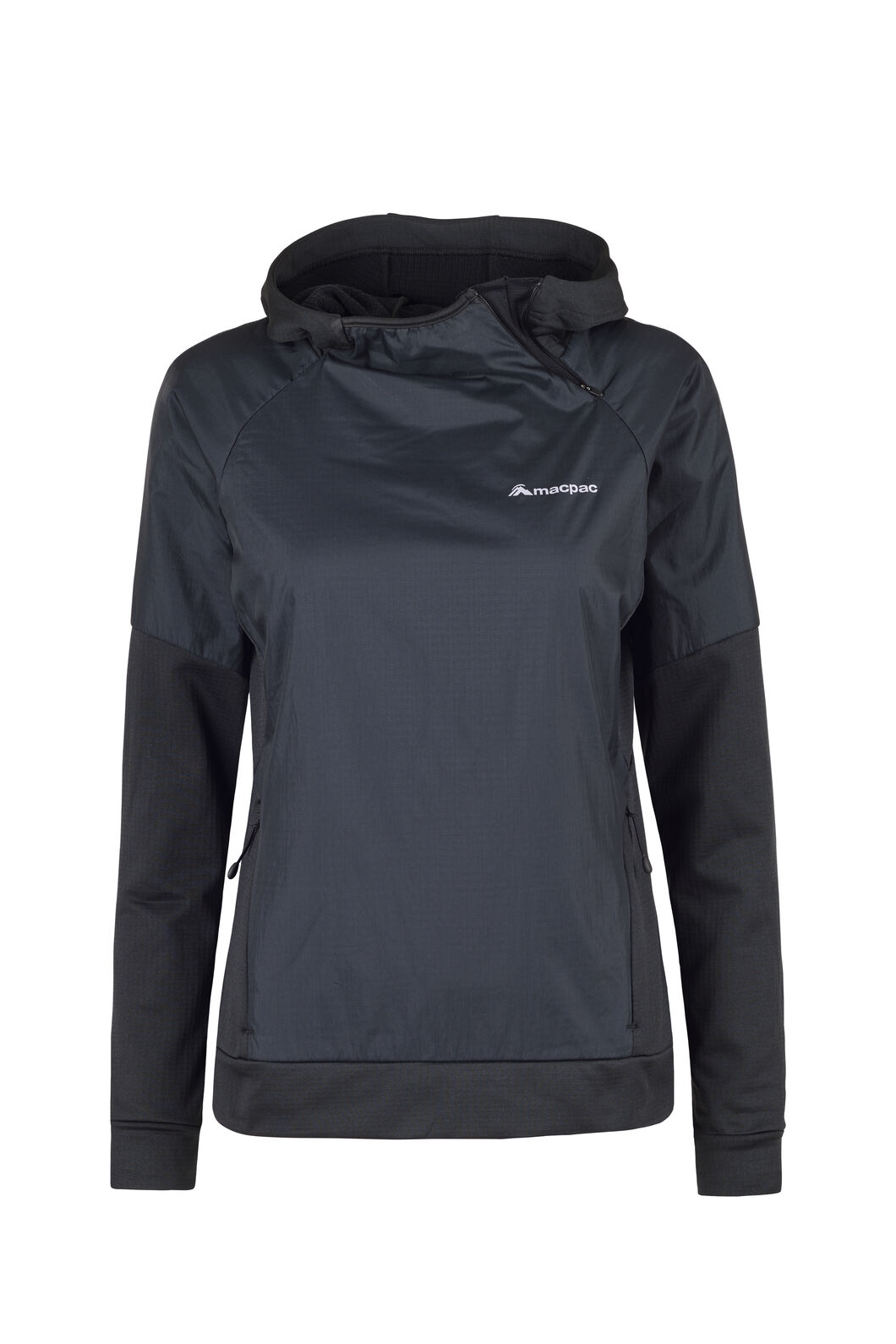 Macpac Saros Polartec® Alpha® Pullover - Women's, Black, hi-res