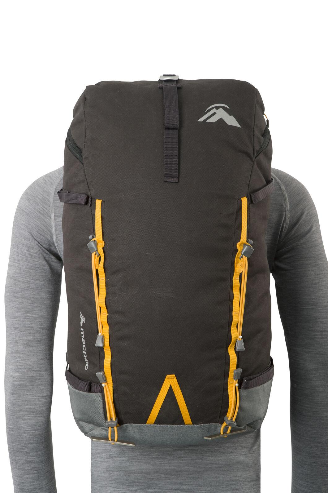 Macpac Pursuit 40L AzTec® Alpine Pack, Licorice, hi-res