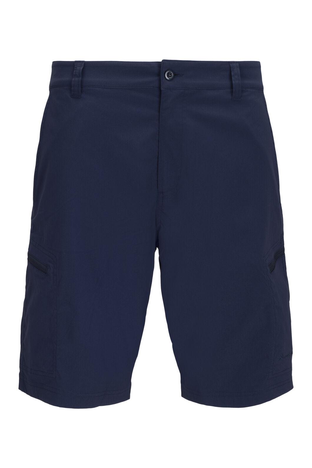Macpac Men's Drift Shorts, Black Iris, hi-res