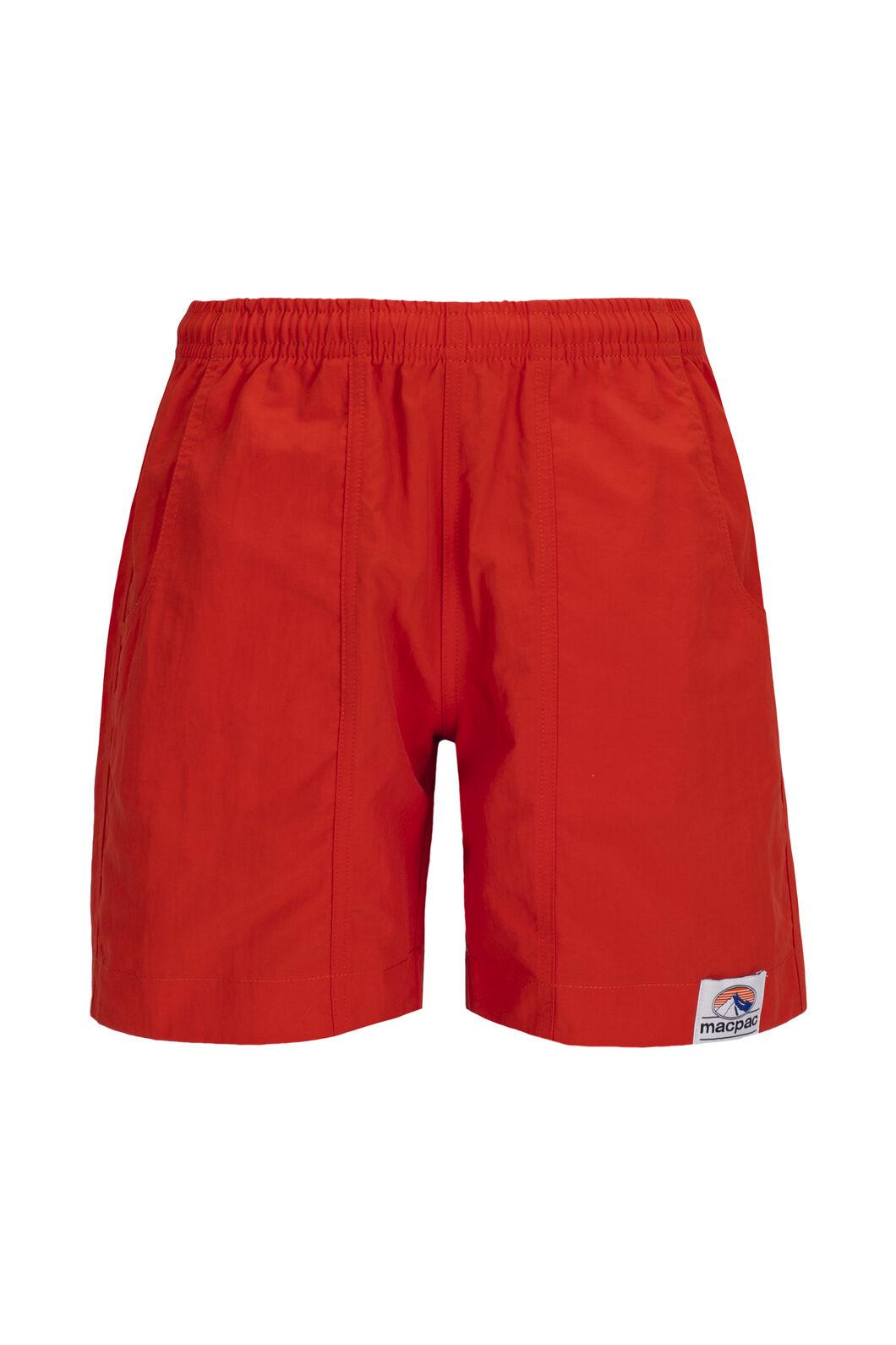 Macpac Winger Shorts — Kids', Pureed Pumpkin, hi-res