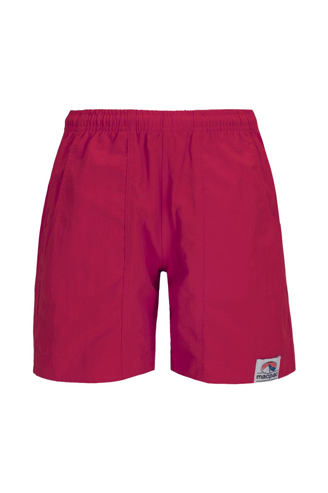 Macpac Winger Shorts — Kids', Raspberry Wine, hi-res