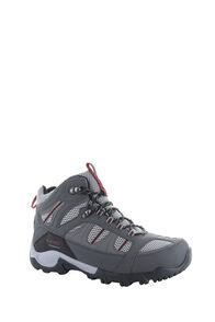 Hi-Tec Bryce II Mid WP Boots — Men's, Charcoal/Grey/Fired Brick, hi-res