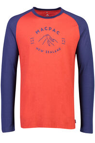 Mountain Merino 180 Long Sleeve Crew - Men's, Pompeian, hi-res