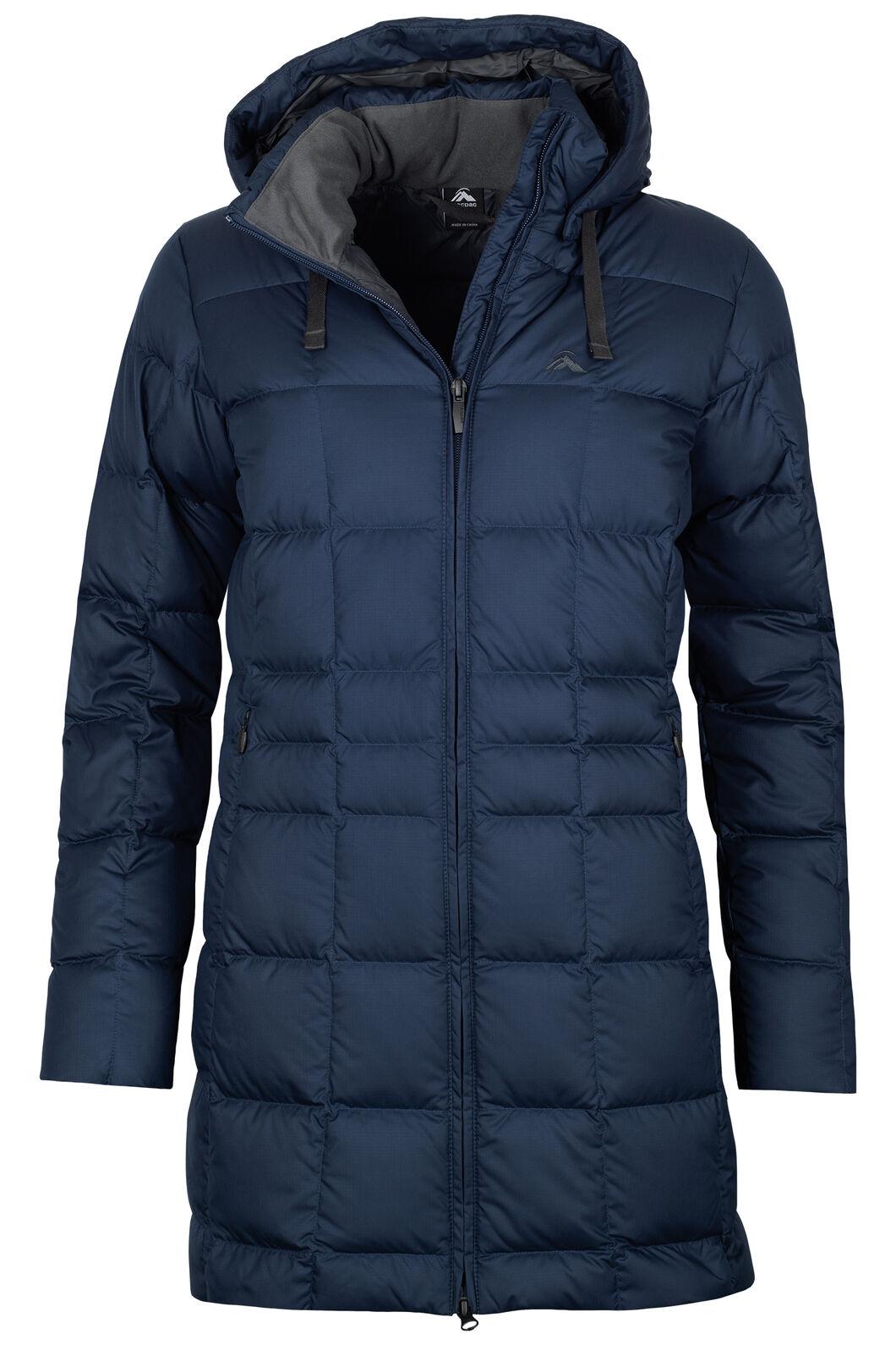 Aurora Down Coat V3 - Women's, Black Iris, hi-res