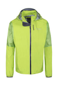 Macpac Transition Pertex® Rain Jacket — Men's, Macaw Green, hi-res