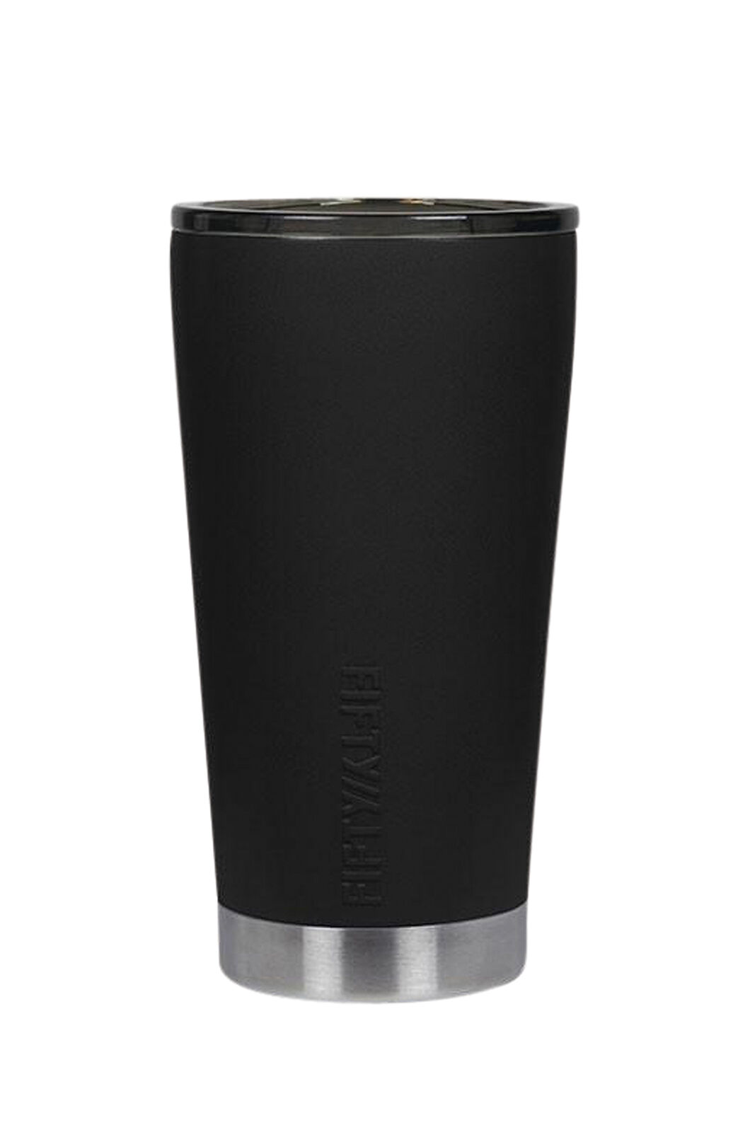 FIFTY/FIFTY® Insulated Tumbler — 16 oz./473 ml, Matt Black, hi-res