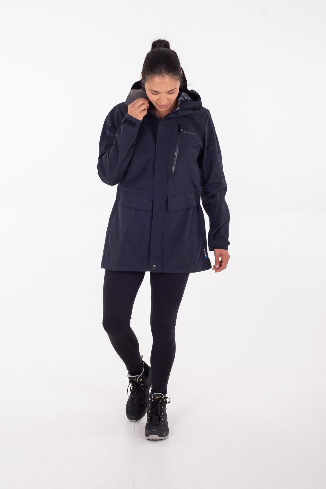Macpac Resolution Pertex® Long Rain Jacket - Women's, Potent Purple, hi-res
