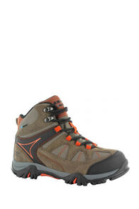 Hi-Tec Kids' Altitude VI Lite WP Hiking Boots, Smokey Brown/Taupe/Red Rock, hi-res