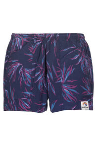 Macpac Winger Shorts — Women's, Black Iris Print, hi-res