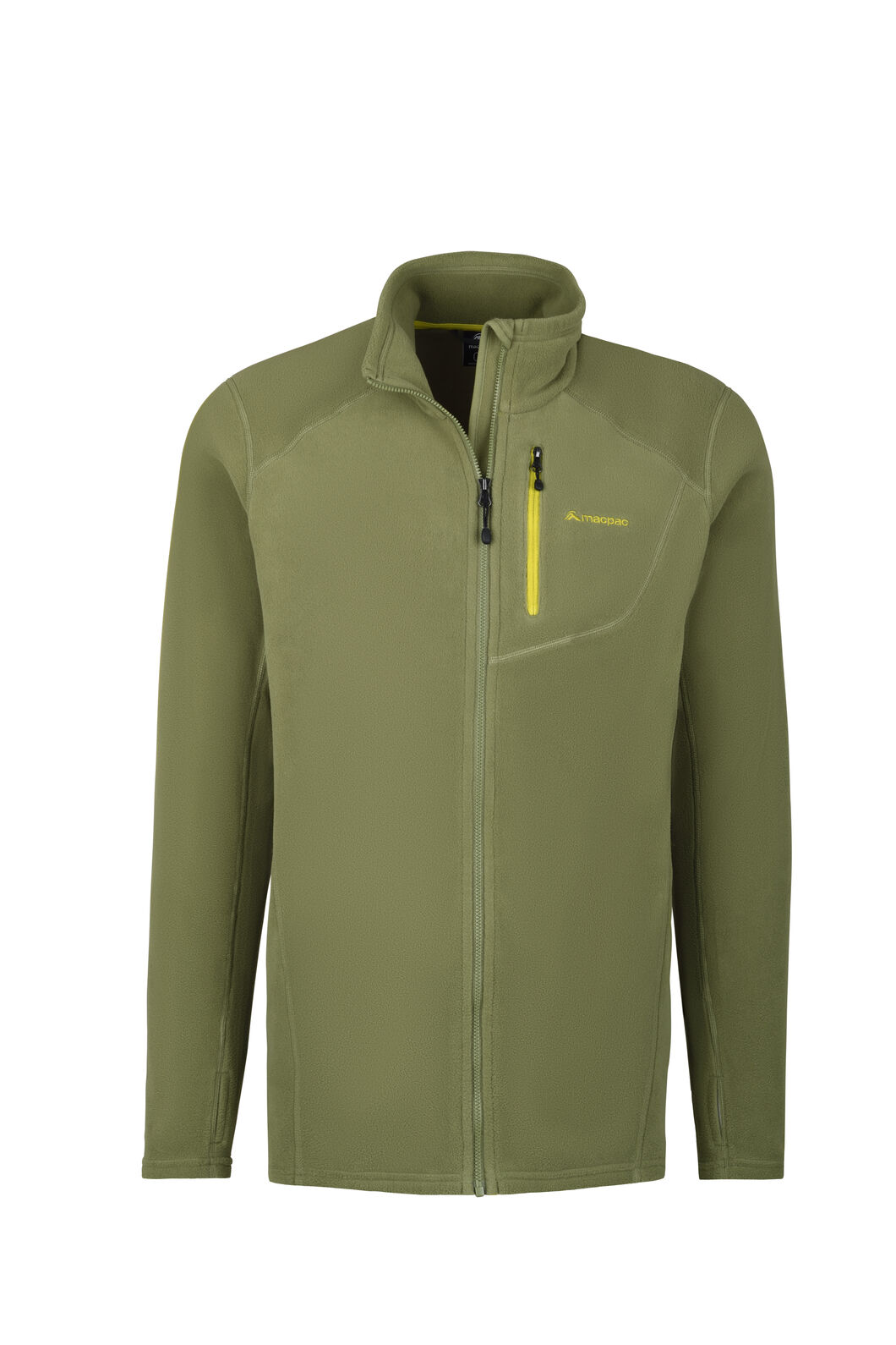 Macpac Kea Polartec® Micro Fleece® Jacket - Men's, Loden Green, hi-res