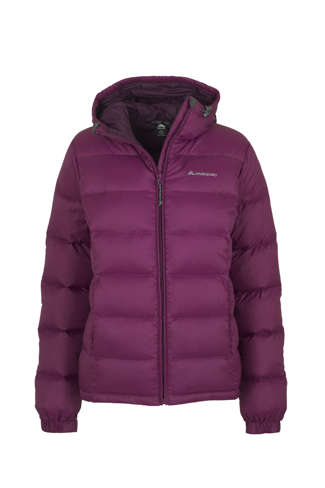 Macpac Halo Hooded Down Jacket - Women's, Magenta, hi-res