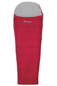 Macpac Roam Synthetic 350 Sleeping Bag - Standard, Crimson, hi-res