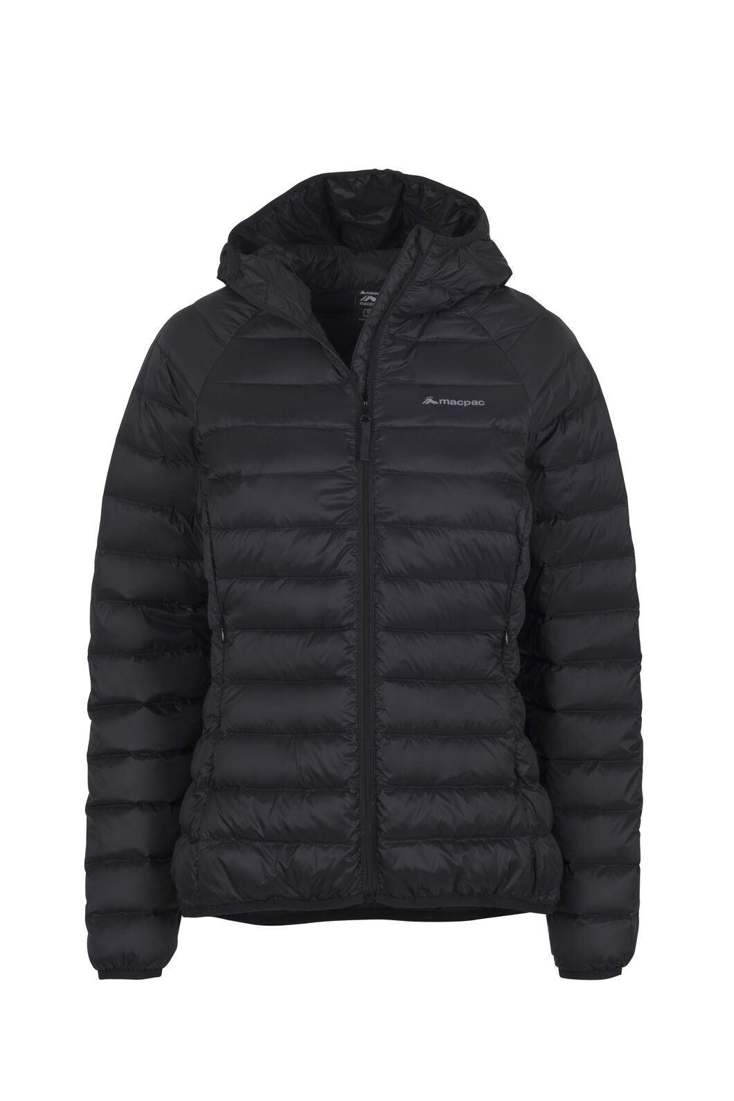 Macpac Uber Light Hooded Jacket - Women's, Black, hi-res