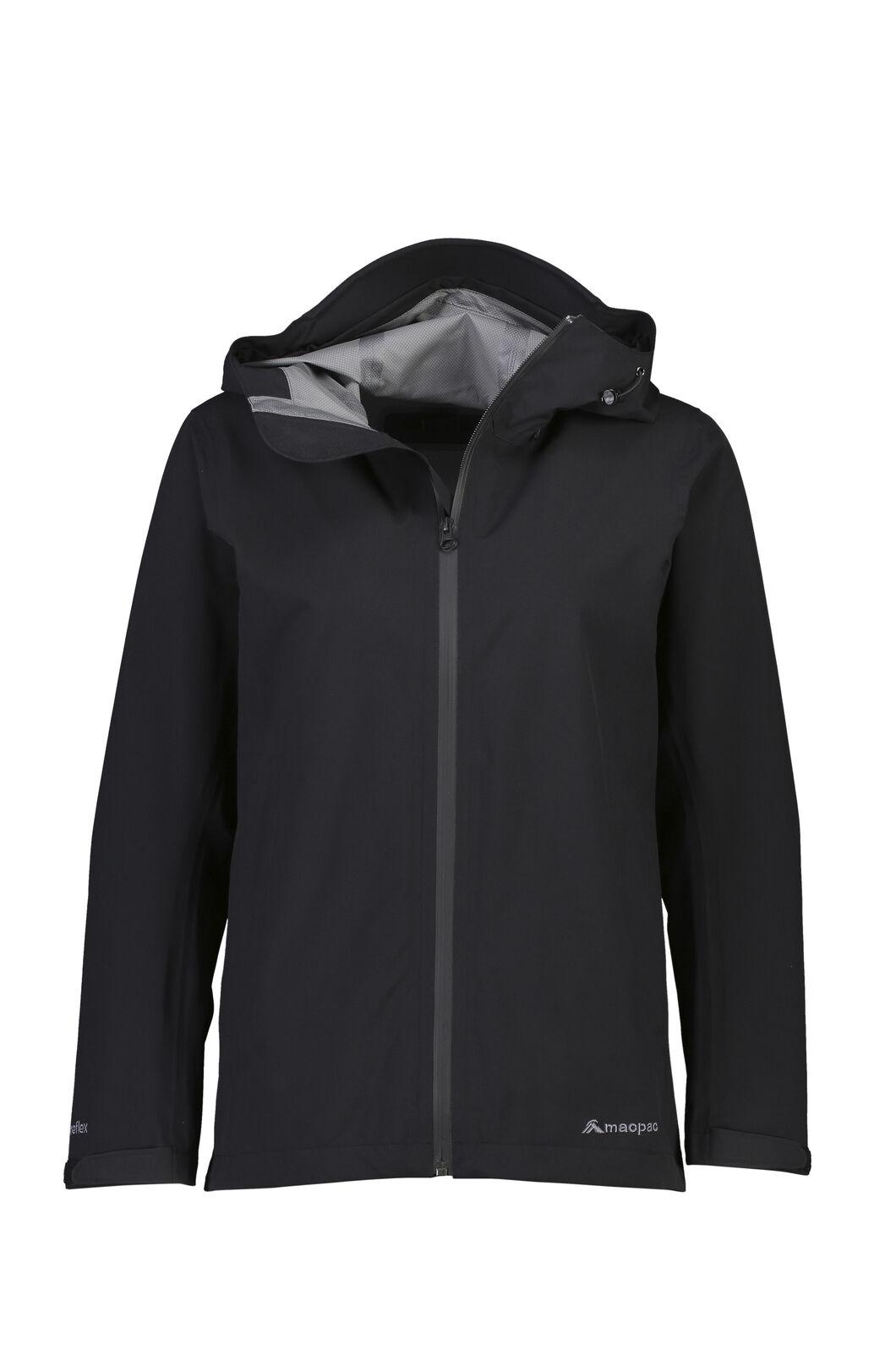 Macpac Dispatch Rain Jacket — Women's, Black, hi-res
