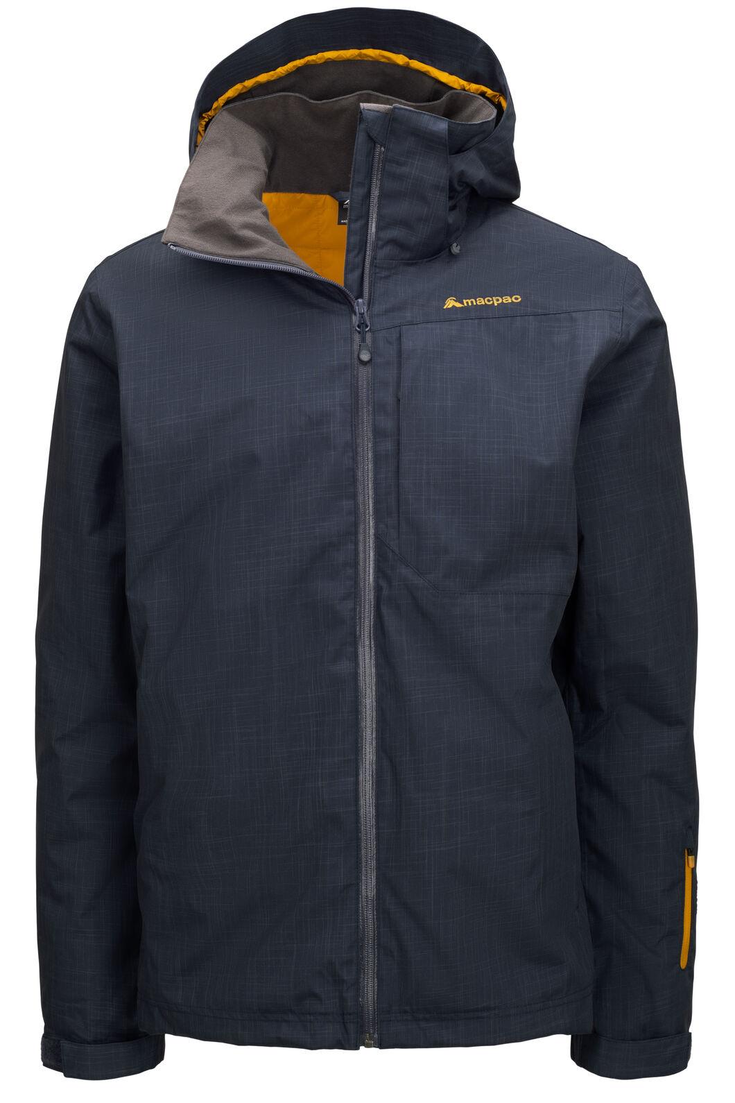 Macpac Men's Powder Reflex™ Ski Jacket, BLUE NIGHTS, hi-res