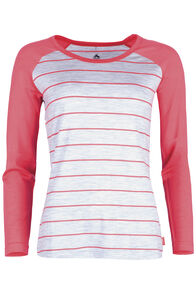 Victoria 180 Scoop Top Womens, Cayenne Stripe, hi-res