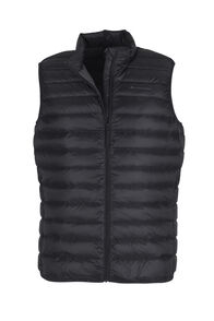 Macpac Uber Light Down Vest - Men's, Black, hi-res