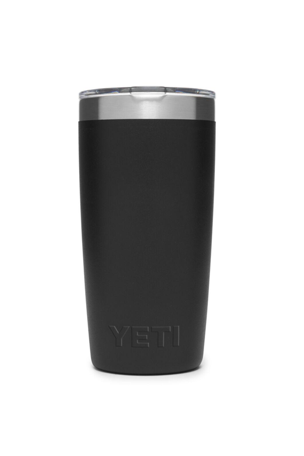 YETI® Rambler Tumbler With MagSlider Lid — 10oz, Black, hi-res