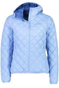 Uber Light Hooded Down Jacket - Women's, Bright Cobalt/Vista Blue, hi-res