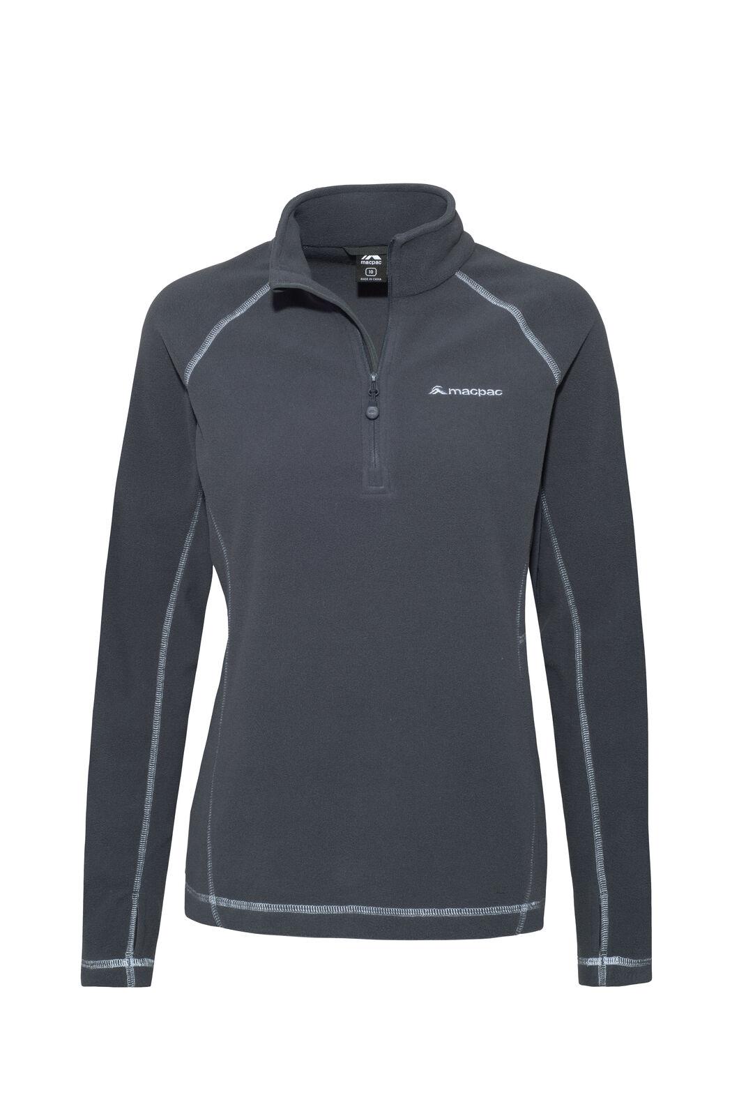 Macpac Tui Polartec® Micro Fleece® Pullover — Women's, India Ink, hi-res