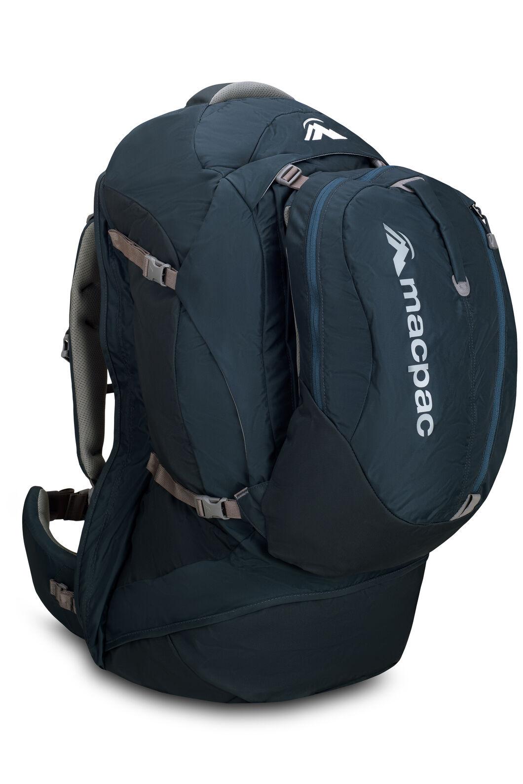 Macpac Orient Express 65L Travel Backpack, Carbon, hi-res