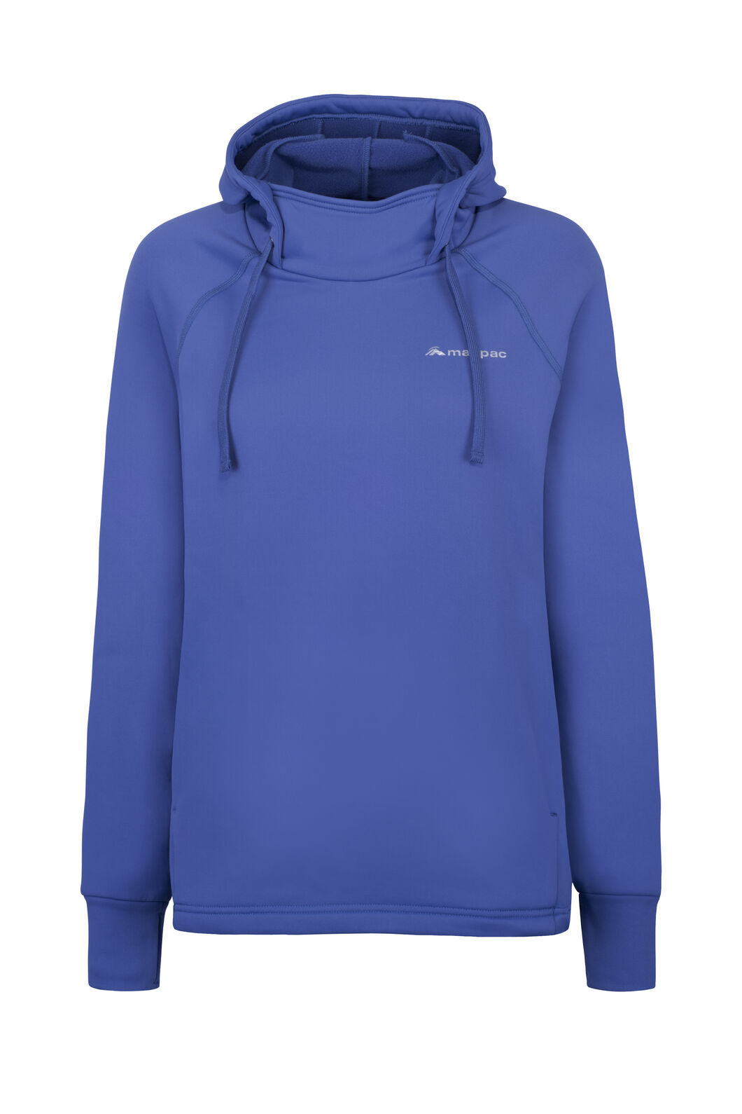 Macpac Traction Hooded Fleece Pullover — Women's, Marlin, hi-res