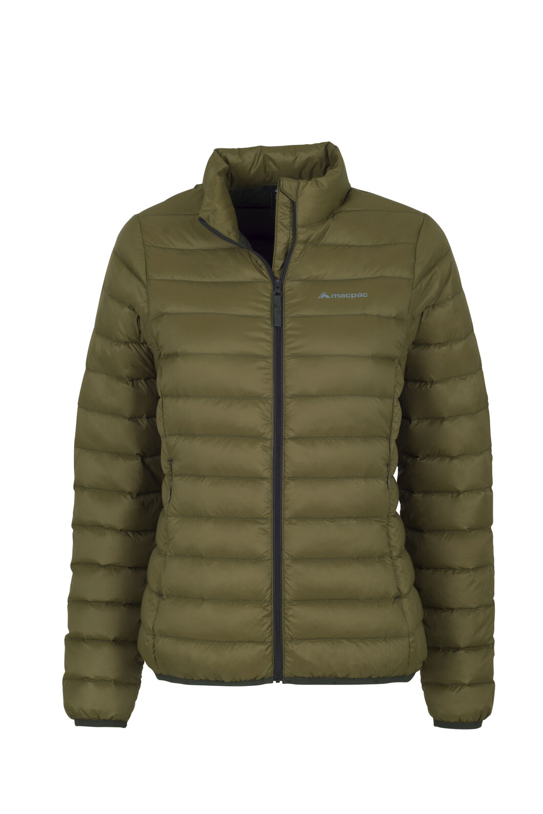 Macpac Uber Light Down Jacket — Women's, Military Olive, hi-res