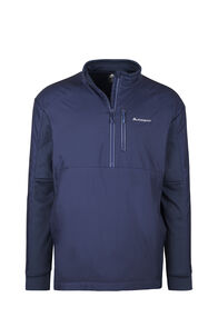 Macpac Saros Polartec® Alpha® Pullover - Men's, Black Iris, hi-res
