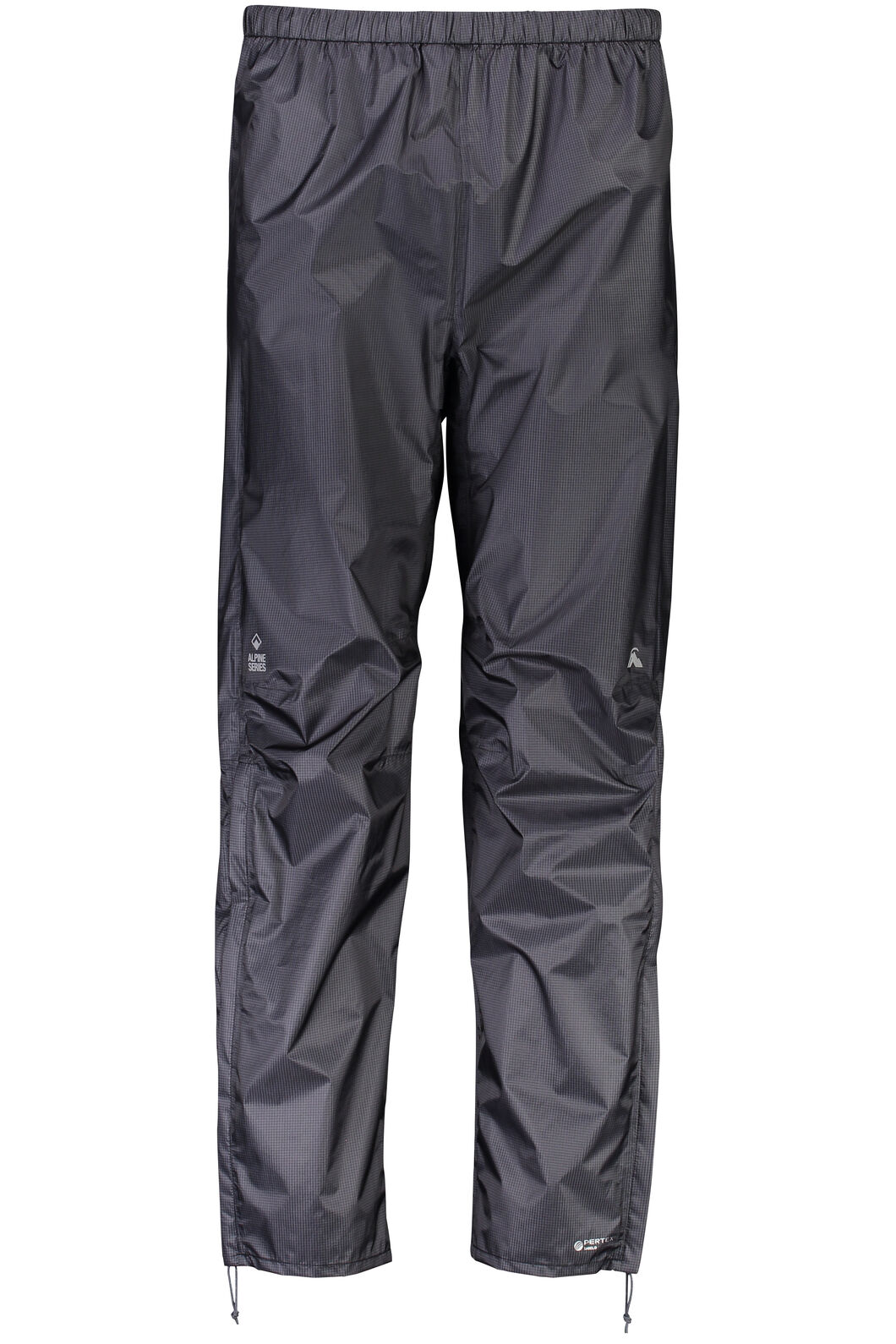 Macpac Hightail Pertex® Rain Pants — Men's, Black, hi-res