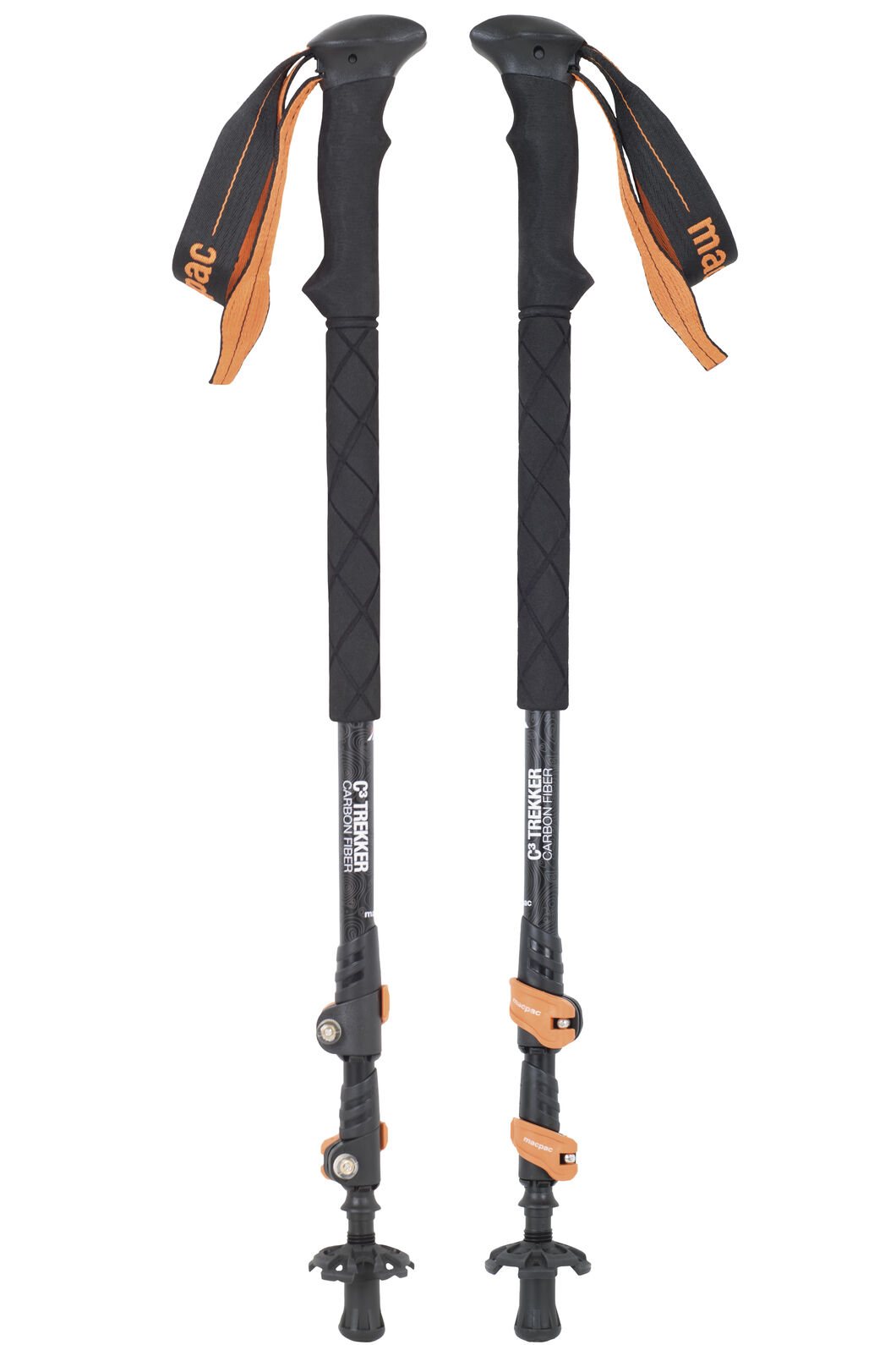 Macpac C3 Hiking Pole Set, None, hi-res