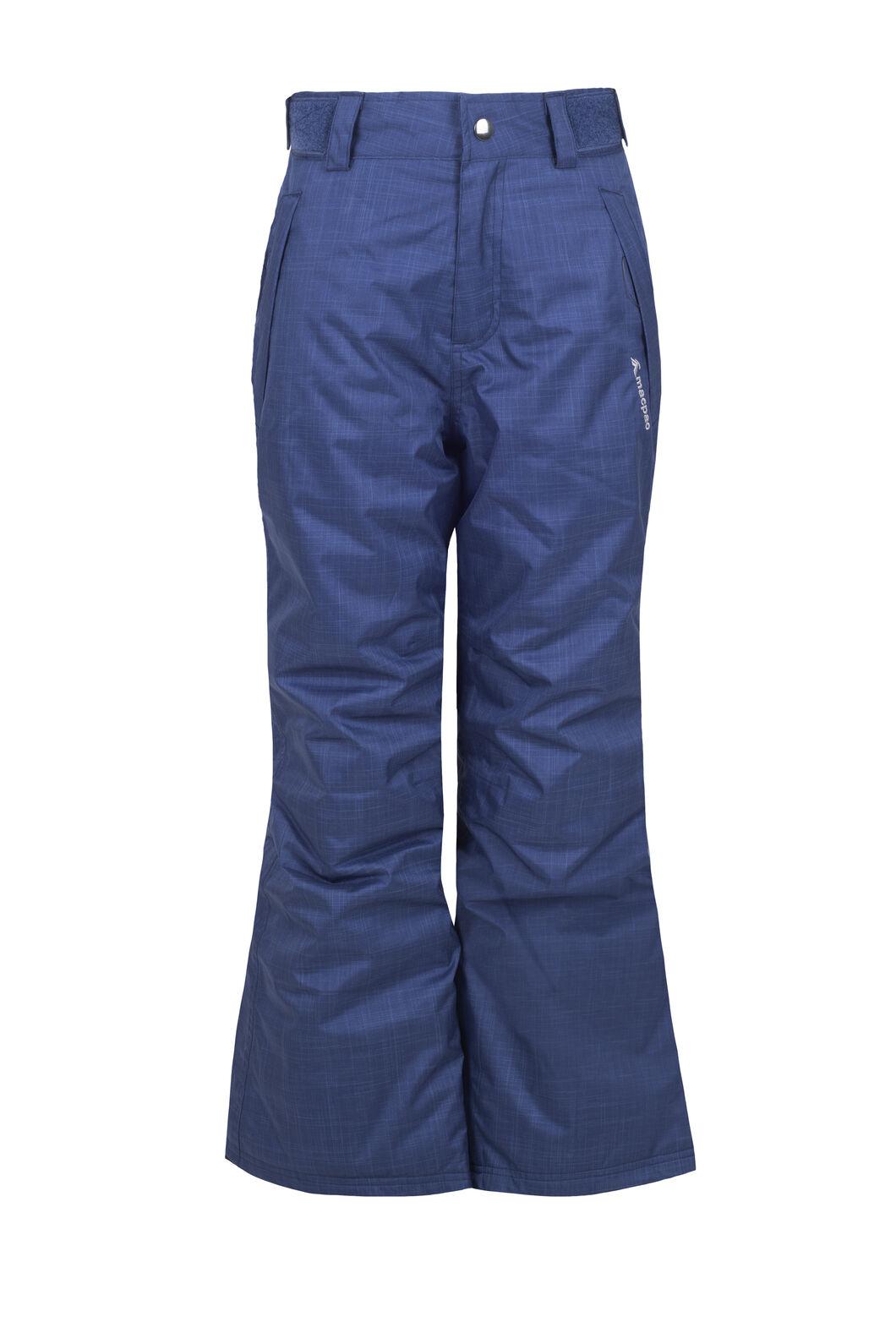 Macpac Spree Ski Pants - Kids', Medieval Blue, hi-res