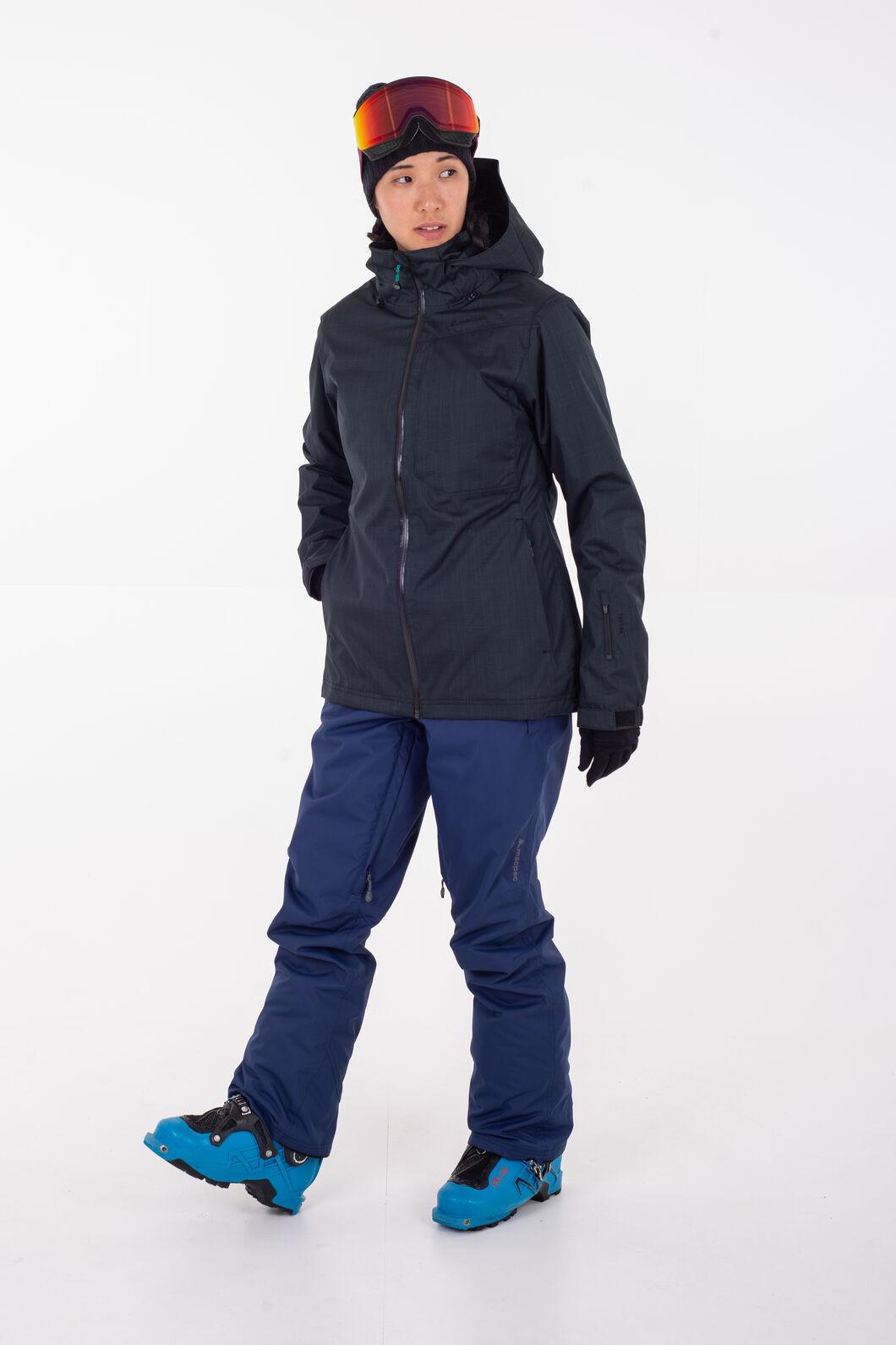Macpac Powder Ski Jacket - Women's, Black/Black, hi-res