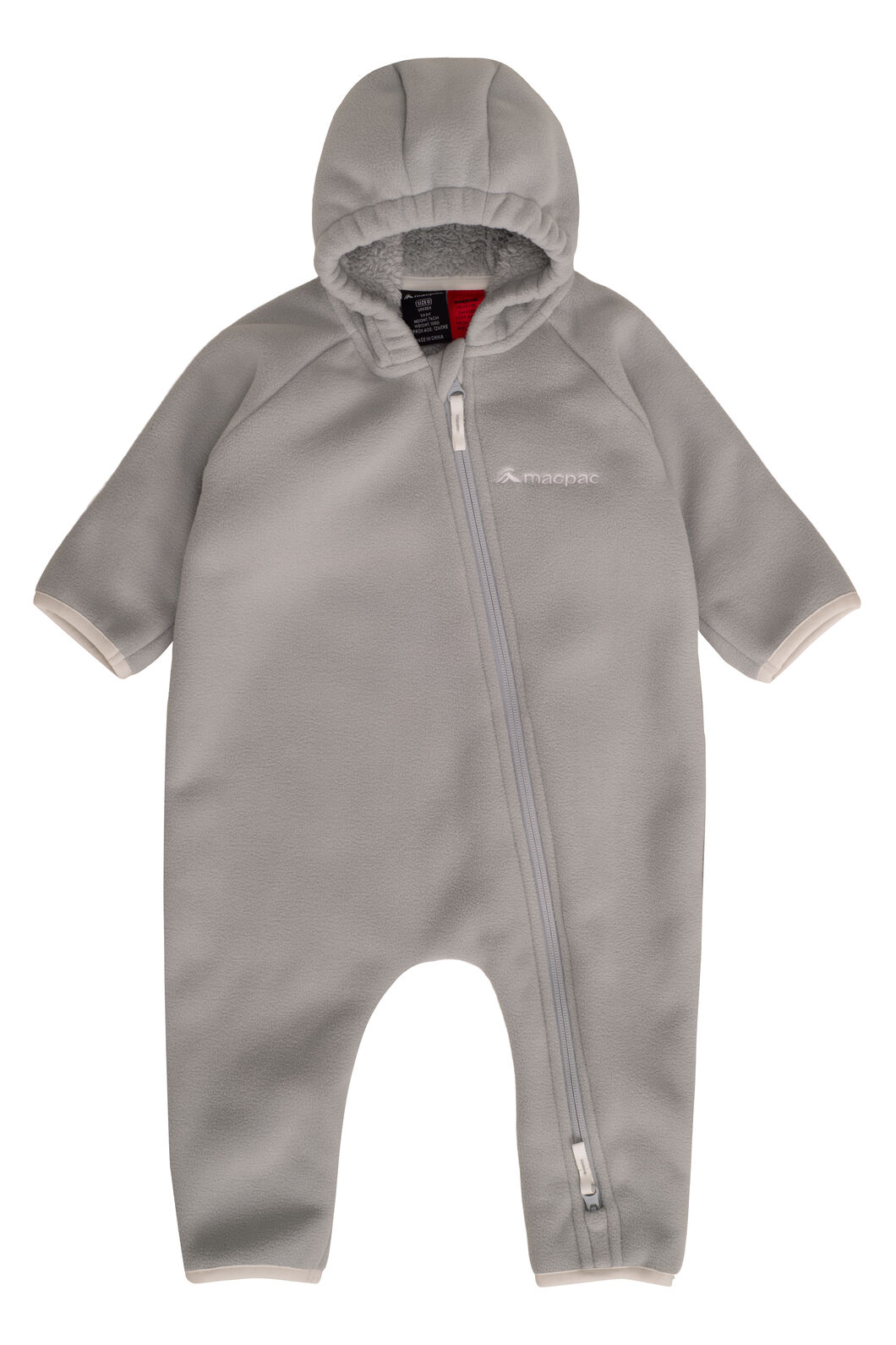 Macpac Acorn Fleece Onesie — Baby, High Rise, hi-res