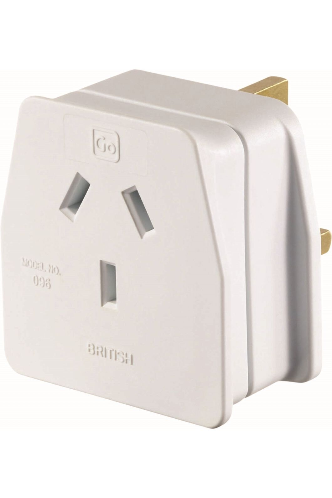 Go Travel UK Travel Adaptor, None, hi-res