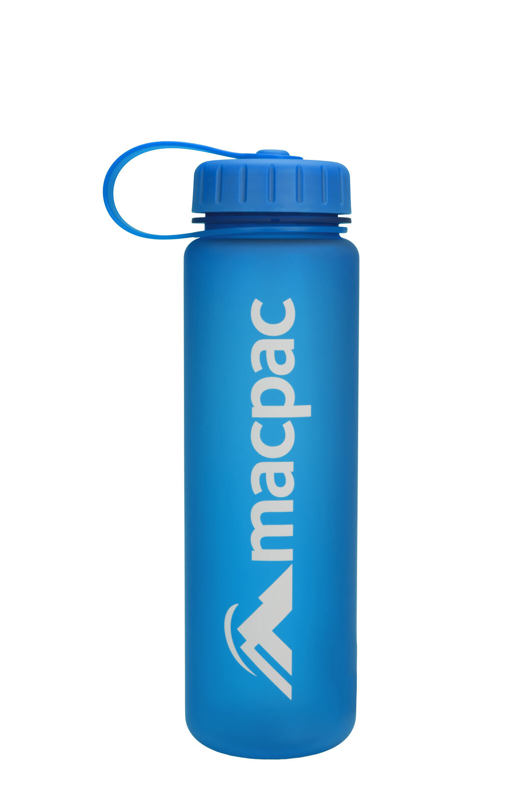 Macpac Soft Touch Water Bottle — 600ml, Blue, hi-res
