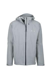 Macpac Less is Less Rain Jacket - Men's, Grey Marle, hi-res