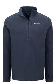 Macpac Tui Polartec® Micro Fleece® Pullover — Men's, Black Iris/Black Iris, hi-res