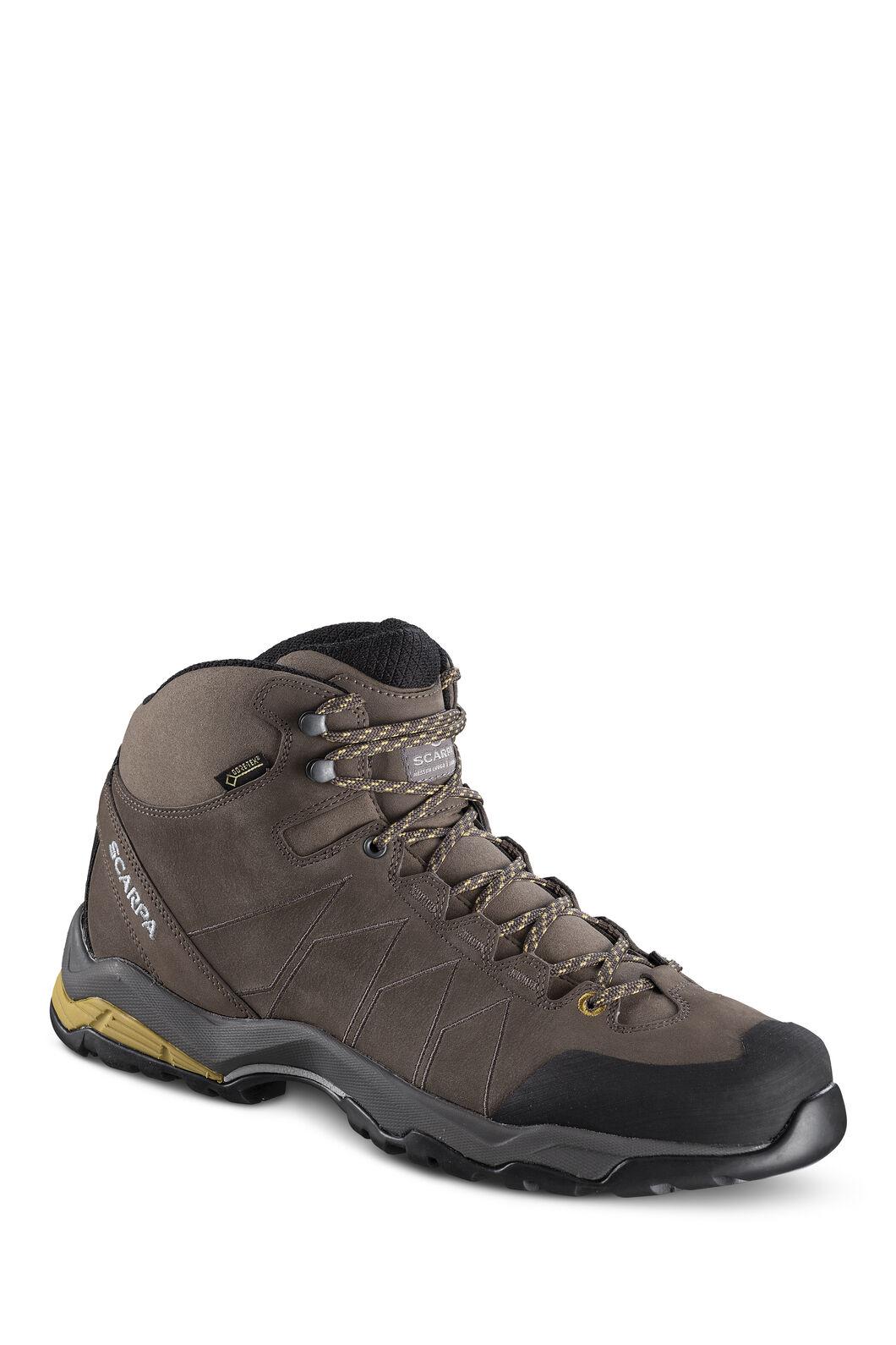Scarpa Moraine Plus GTX Hiking Boot - Men's, Charcoal/SulphurGreen, hi-res