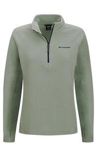 Macpac Tui Polartec® Micro Fleece® Pullover — Women's, Green Bay, hi-res