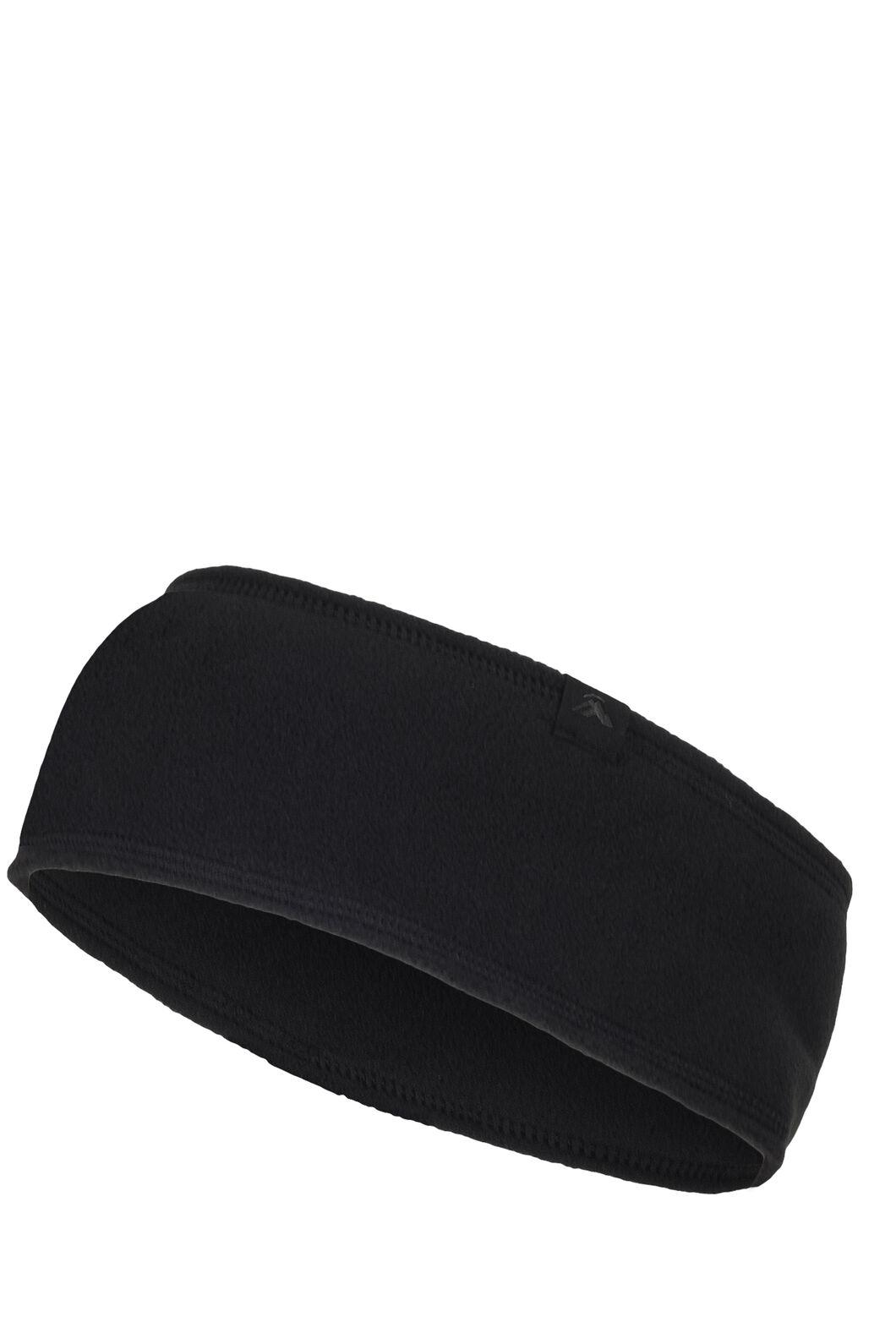 Macpac Tieke Headband, Black, hi-res