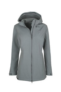 Macpac Chord Softshell Jacket - Women's, Monument, hi-res