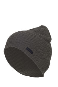 Macpac Ultrafine Merino Rib Beanie, Grape Leaf, hi-res